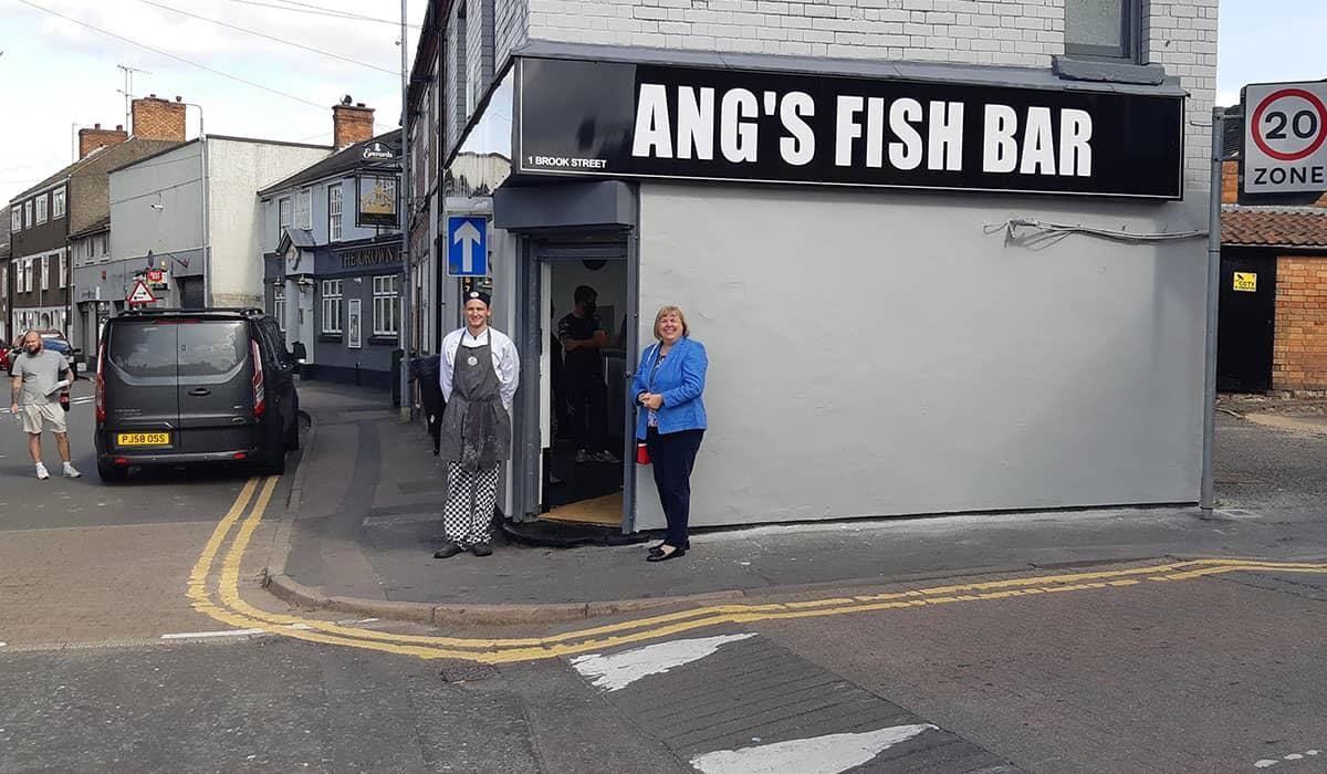 fish and chip range