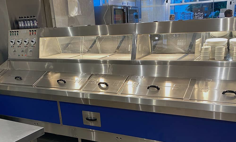 fish and chip range