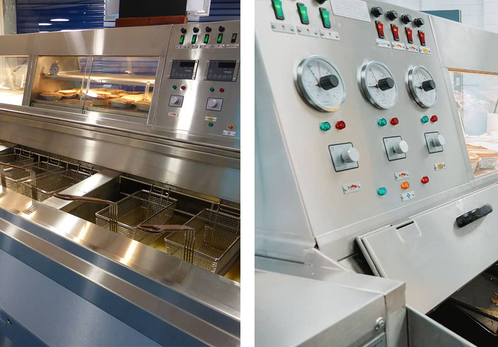 Traditional, Reliable Frying Ranges For Sale from Mallinson's of Oldham